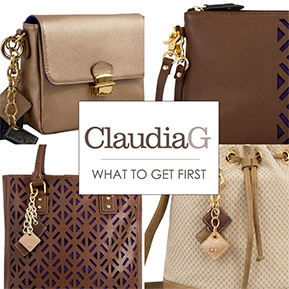ClaidiaG Luxurious Leather Designer Handbags, Trendy Chic Jewelry & Chic Accessories