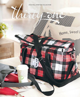 Thirty One Fall & Winter 2016 Catalog