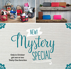 Thirty One October Customer Special