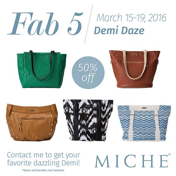 Miche Demi fab5-15
