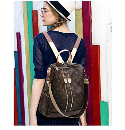Women's Leather Backpack Purse | Handbags By Design
