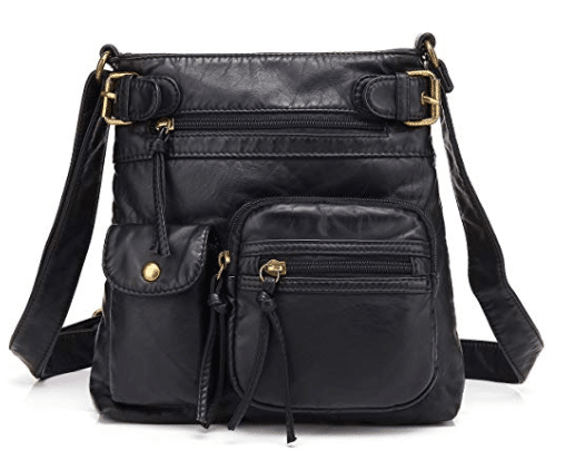 Accent Top Belt Crossbody Bag | Handbags By Design
