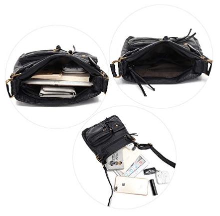 Accent Top Belt Crossbody Bag   Handbags By Design