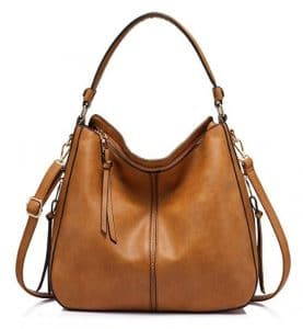 Realer Faux Leather Bucket Bag
