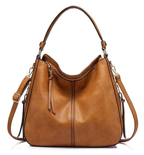 Realer Faux Leather Bucket Bag