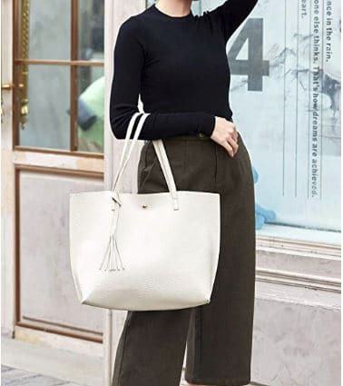 Soft Leather Tote Shoulder Bag | Handbags By Design